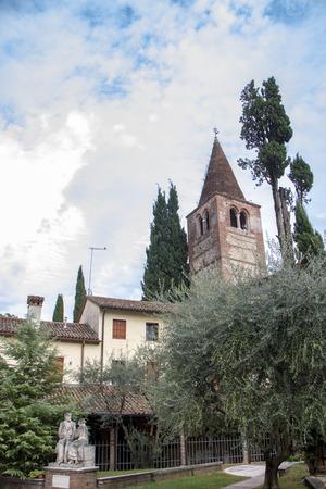 Sant Antonio Abate church at Marostica, Italy
