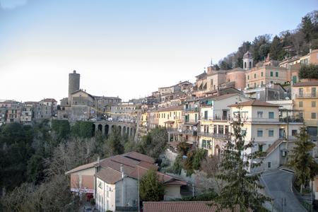The town of Nemi, Latium, Italy Reklamní fotografie