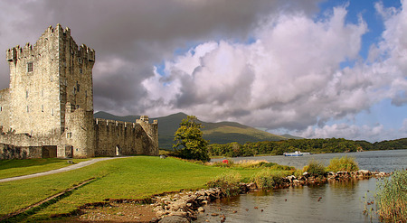 Ross castle, in Killarney national park, county clare, ireland