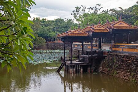 The Tomb of Tu Duc, at Hue city, Vietnam