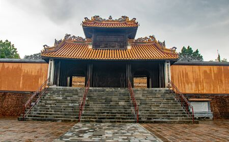 The Tomb of Tu Duc, at Hue city, Vietnam