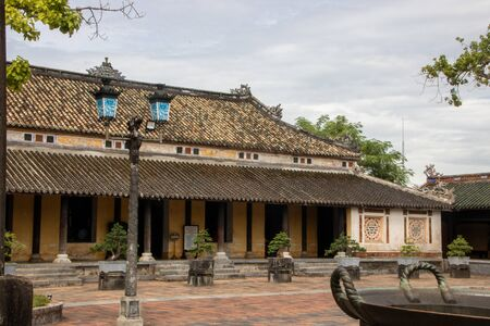 The Imperial City (Vietnamese: Hoàng thành), the  walled enclosure within the citadel (Kinh thành) of the city of Huế, the former imperial capital of Vietnam