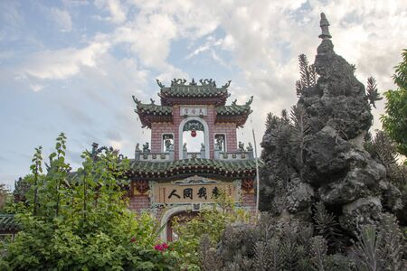 Fukian Assembly Hall or Phuc Kien in the Hoi An ancient town in Quang Nam Province of Vietnam 新聞圖片