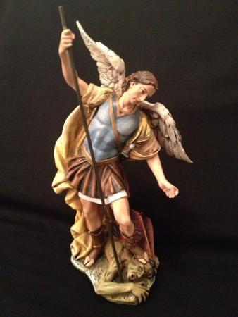 michael the archangel: Saint Michael the Archangel  Stock Photo