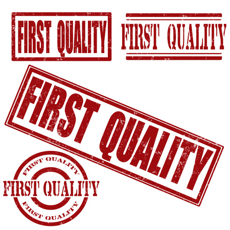 firse quality grunge stamp on whit vector illustration Vector