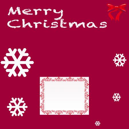 ilustration: Christmas Card,vector ilustration