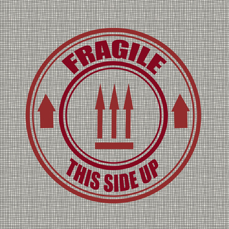 fragile background whit on vector illustration