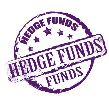 hedgefondsen stempel Stock Illustratie