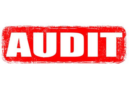 audit grunge bélyegző on illusztráció