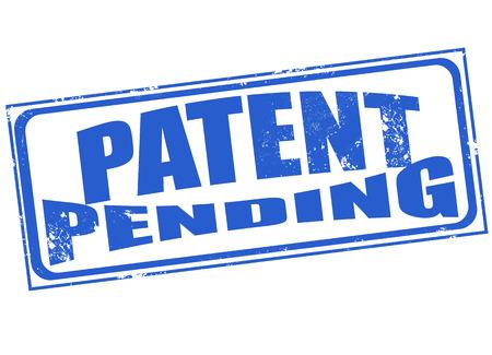 patent: patent pending grunge stamp illustration
