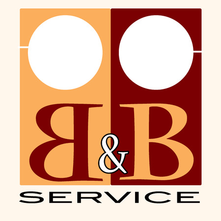b&b service label stamp  Stock Vector - 30727530
