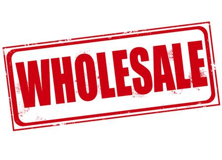 wholesale: wholesale grunge stamp  Illustration
