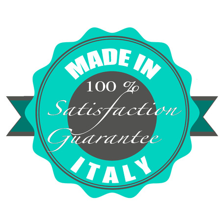 made in italy stamp with grunge vector illustration on Vector