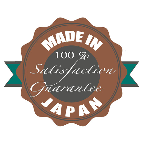 made in japan stamp with grunge vector illustration on Vector