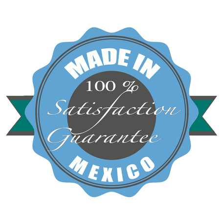 made in mexico vector illustration on grunge stamp with Vector