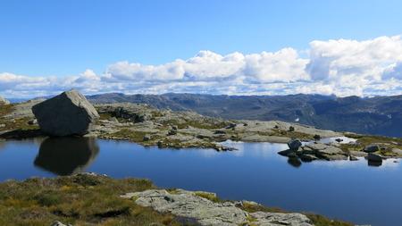 fjords: Calm fjords Stock Photo
