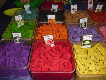 Incense: Incense colors