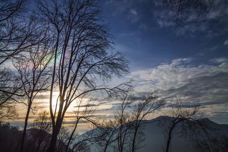 iridescent: iridescent cloud Stock Photo