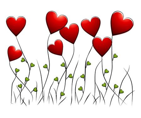Flowers - romantic floral background