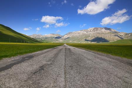 endless: endless road Stock Photo