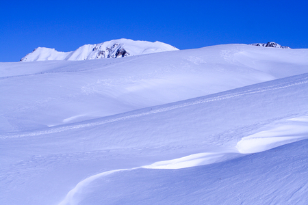 paysage: Snow in lessinia