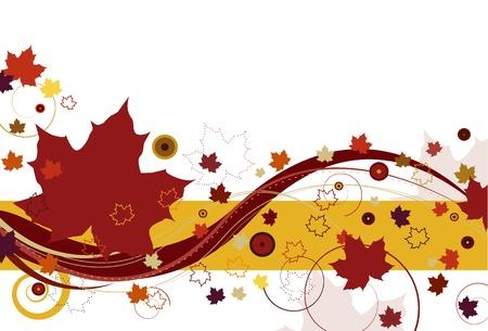 Autumn Leaves en rouge