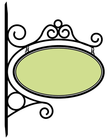 Bistro teken Stock Illustratie