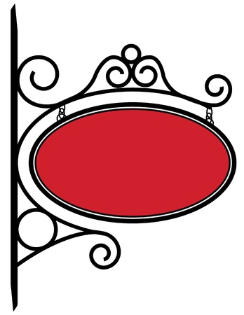 Bistro Sign Stock Vector - 9917737