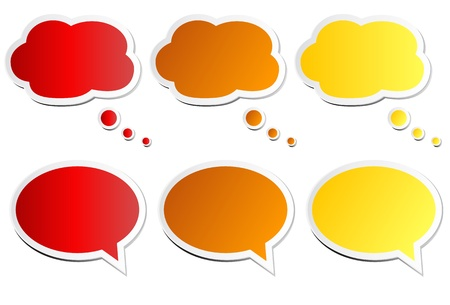 Chat Bubbles Illustration