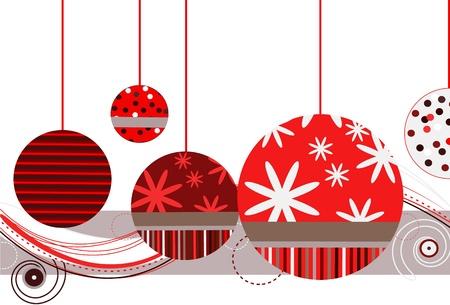 레드 크리스마스 장식품