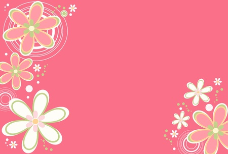 Floral background Stock Vector - 9917759