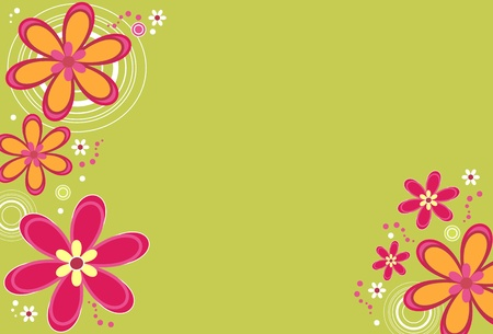 Floral background Stock Vector - 9919649