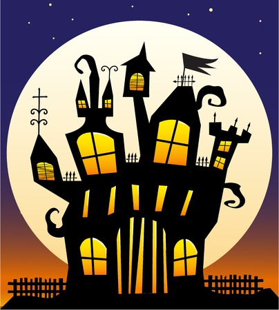 Haunted Castle Stock Vector - 9919303