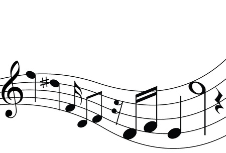 Musical Notes and Staff