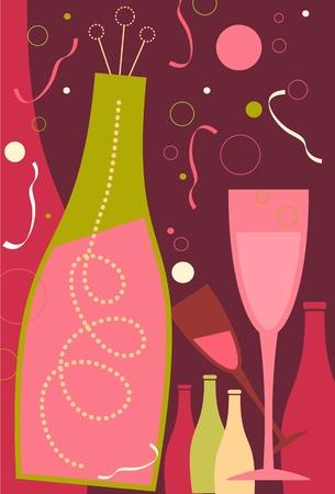 burgundy ribbon: Celebrazione