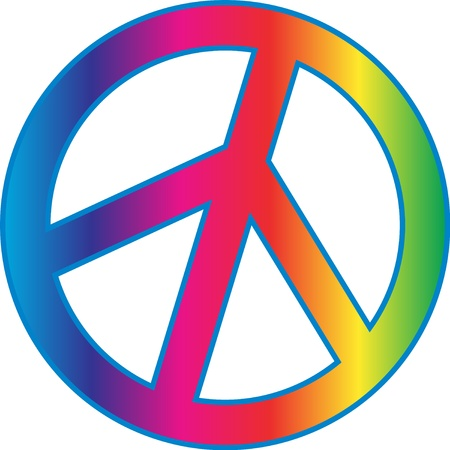 symbol: Peace sign Illustration