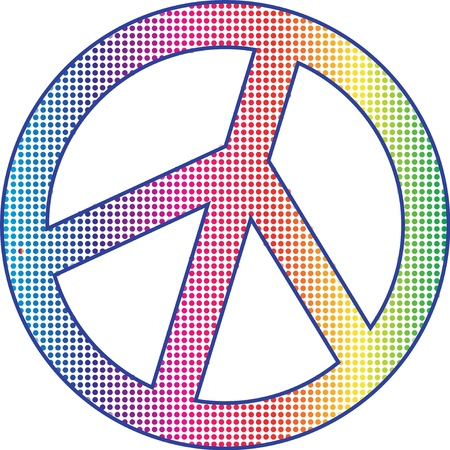 sign: Peace sign Illustration