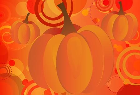 Pumpkin Bokeh Stock Vector - 9919691