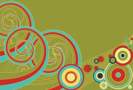 Retro Spirals
