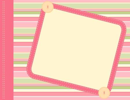Scrapbook frame Standard-Bild - 9917750