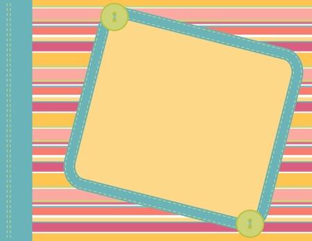 element: Scrapbook frame