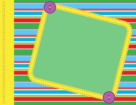 cute border: Scrapbook frame