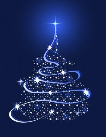 별이있는 크리스마스 트리