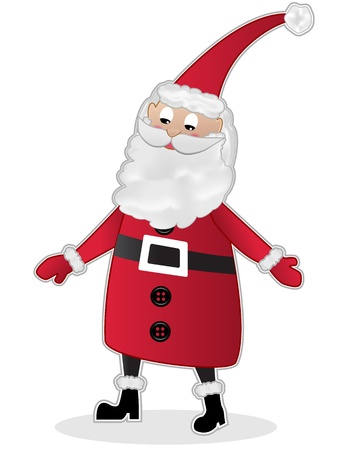 st nicholas: Santa Claus Illustration