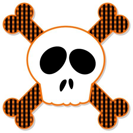 Skull and Crossbones Vector