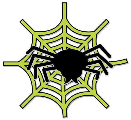 halloween spider: SpiderWeb