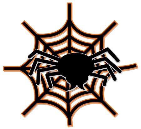 クモの巣  イラスト・ベクター素材