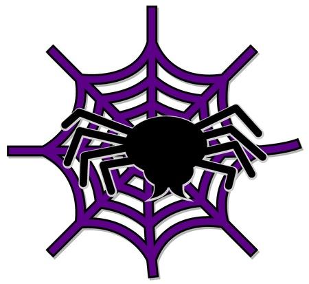 Spinnennetz Standard-Bild - 10226040