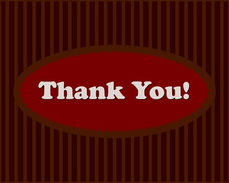 stripped background: Thank You