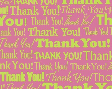 gratitudine: Grazie a voi - la raccolta di diversi raggruppati Thank You testo Vettoriali